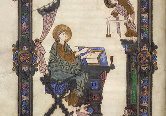 The word of God: St Matthew depicted in the Grimbald Gospels, Canterbury, c.1010