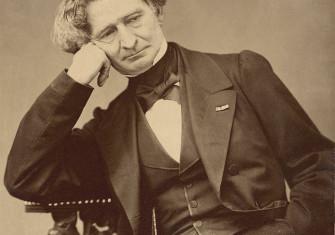 Compositeur fantastique: Hector Berlioz, by Pierre Petit, c.1860.