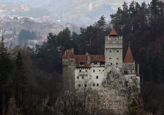 Bran Castle, March 2013.