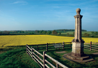 Monument commemorating the Battle of Naseby.