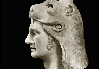 Marble  bust of Mithridates VI, King of Pontus, Greece, 1st century BC © Bridgeman Images.