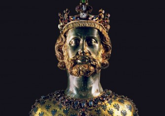 Reliquary bust of Charlemagne, 1349 © Bridgeman Images