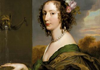 Lucy Hay (née Percy), Countess of Carlisle, by Adriaen Hanneman, c.1660 © Bridgeman Images