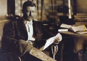 Theodore Roosevelt, c.1903 © New York Public Library/Bridgeman Images.