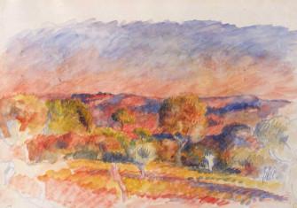 Landscape, 1889. Auguste Renoir. Metropolitan Museum of Art.