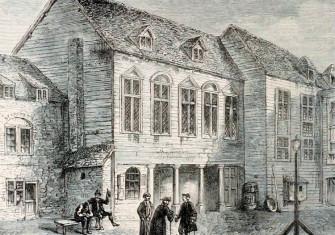 Marshalsea prison, Southwark, London, 18th century