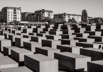 Memorial to the Murdered Jews of Europe, Berlin, designed by Peter Eisenman and inaugurated in 2005.