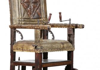 Wheelchair of Sir Thomas Fairfax, parliamentarian commander-in-chief