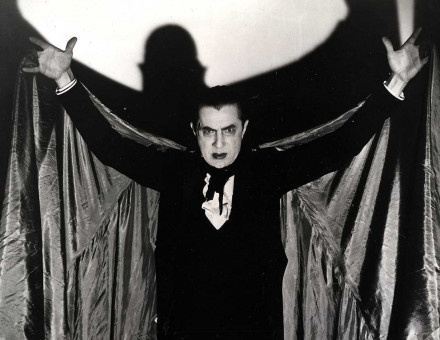 Bela Lugosi as Hollywood's first incarnation of the Count, Dracula, 1931.