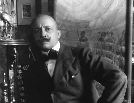 Filippo Tommaso Marinetti, 1920s © Bridgeman Images.