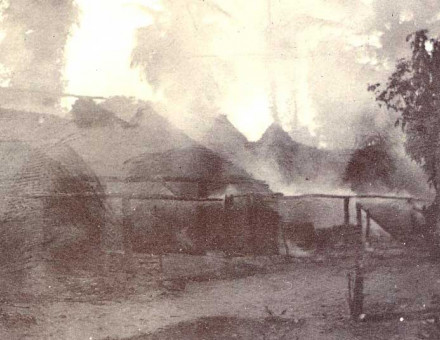 Burning of Arochukwu during Anglo-Aro War after the British captured it