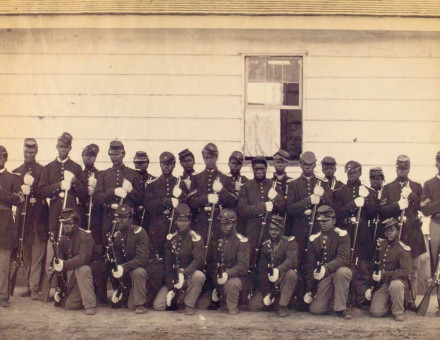 107th Regiment, US Colored Troops, 1865.