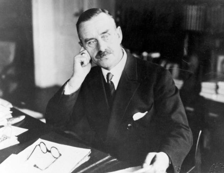 Thomas Mann, author of The Magic Mountain, 1930.