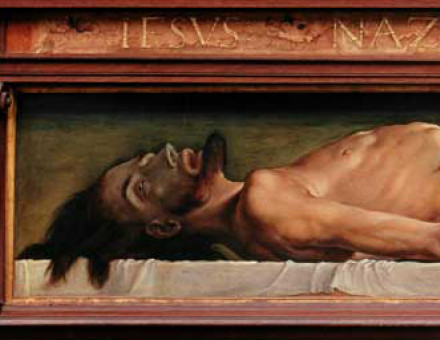 Christ by Holbein