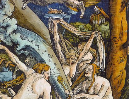 Witches by Hans Baldung Grien (Woodcut, 1508).JPG
