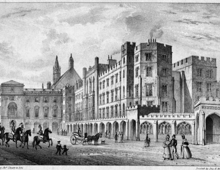 The Houses of Parliament before the 1834 Fire, by J. Shury & Son, c.1834 - See more at: http://www.historytoday.com/rebekah-moore/palace-westminster-repairs-renovations-and-moving-out#sthash.ZjILcb0t.dpuf