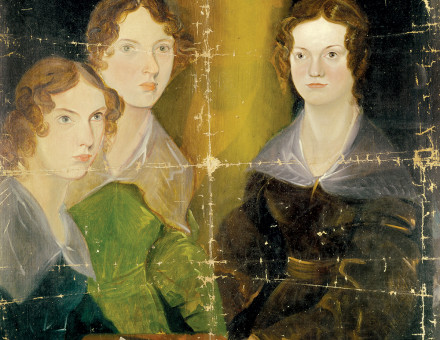 The Brontë sisters portrayed by Patrick Branwell Brontë, c. 1834.