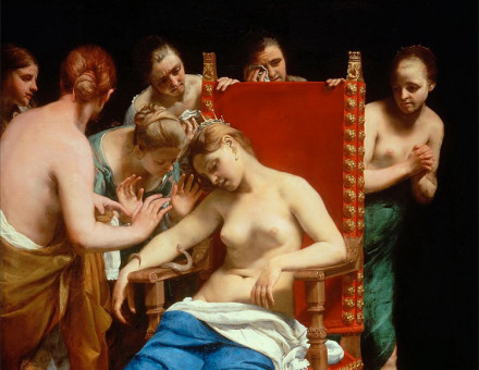The Death of Cleopatra by Guido Cagnacci, 1658