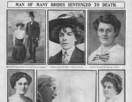 The brides and their killer: the trial reported, July 2nd, 1915.
