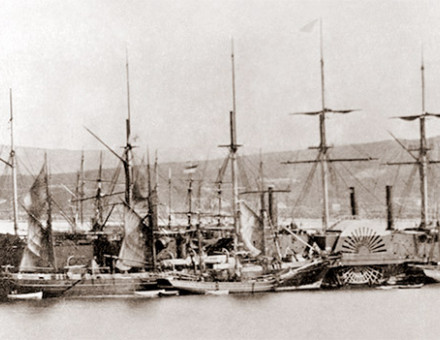 The SS Great Eastern in 1866