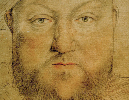 Henry VIII c.1540, by Hans Holbein the Younger.