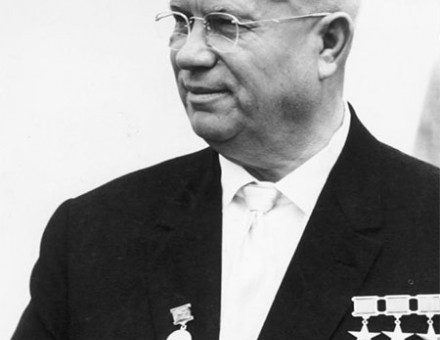 Khrushchev in East Berlin, 1963