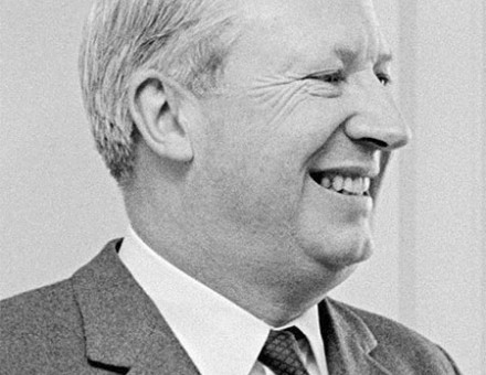Ted Heath in 1966
