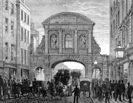 Temple Bar in 1870.