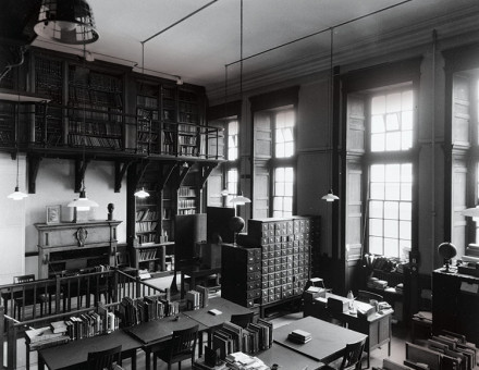 The Reading Room at the Warburg Institute, 1937