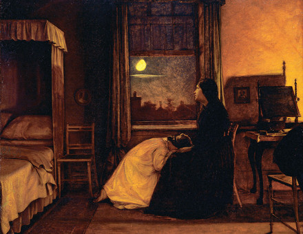 The second painting in Augustus Leopold Egg's Past and Present trilogy.
