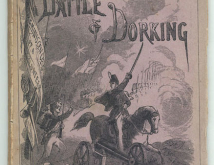 'The Battle Of Dorking', from Blackwood's Magazine, May 1871 by George Tomkyns Chesney.