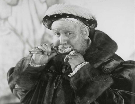 Tudor chicken: Charles Laughton in The Private Life of Henry VIII, 1933