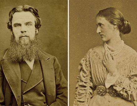 William Holman Hunt, and Edith Holman Hunt, late 19th century.
