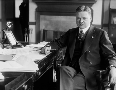 Herbert Hoover as head of the Food Administration, 1918