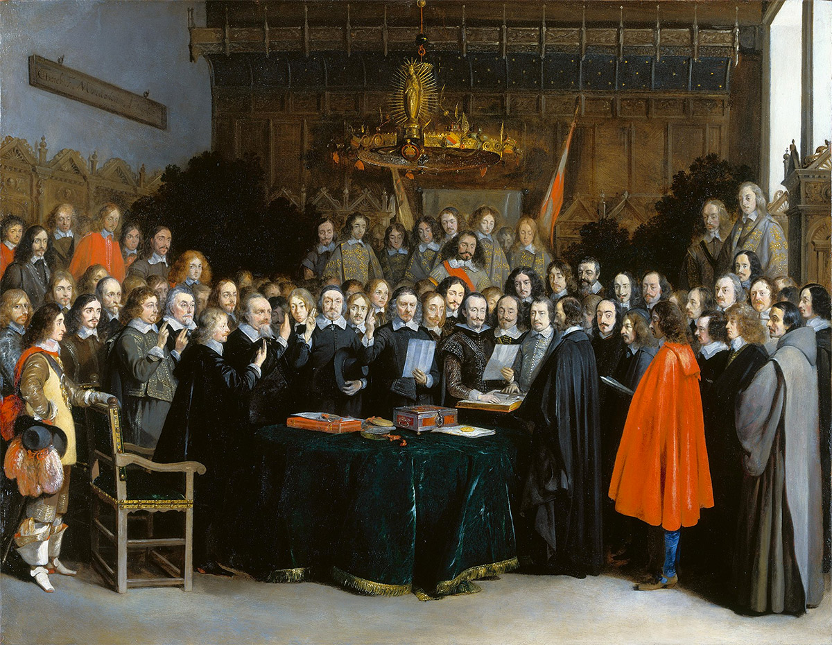 The Treaty of Westphalia | History Today