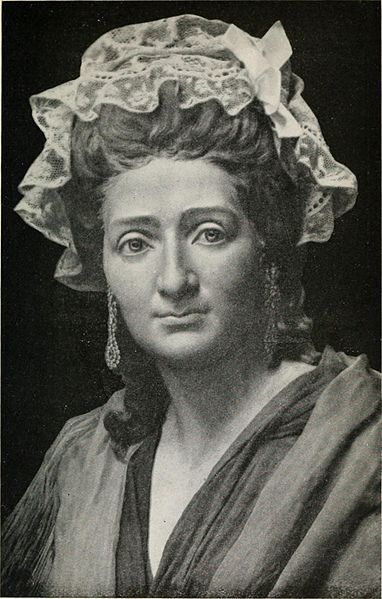 Madame Tussaud at the age of 42. Portrait study (1921) by John Theodore Tussaud.