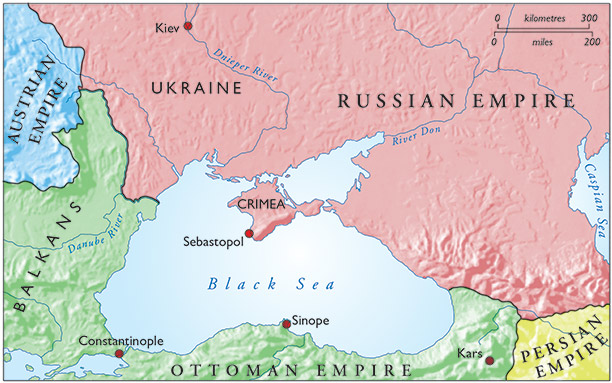 The Crimea, Russia and competing empires, 1854
