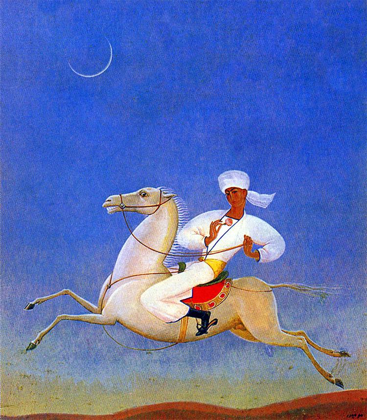 The Bridegroom, Usto Mumin, c.1920.