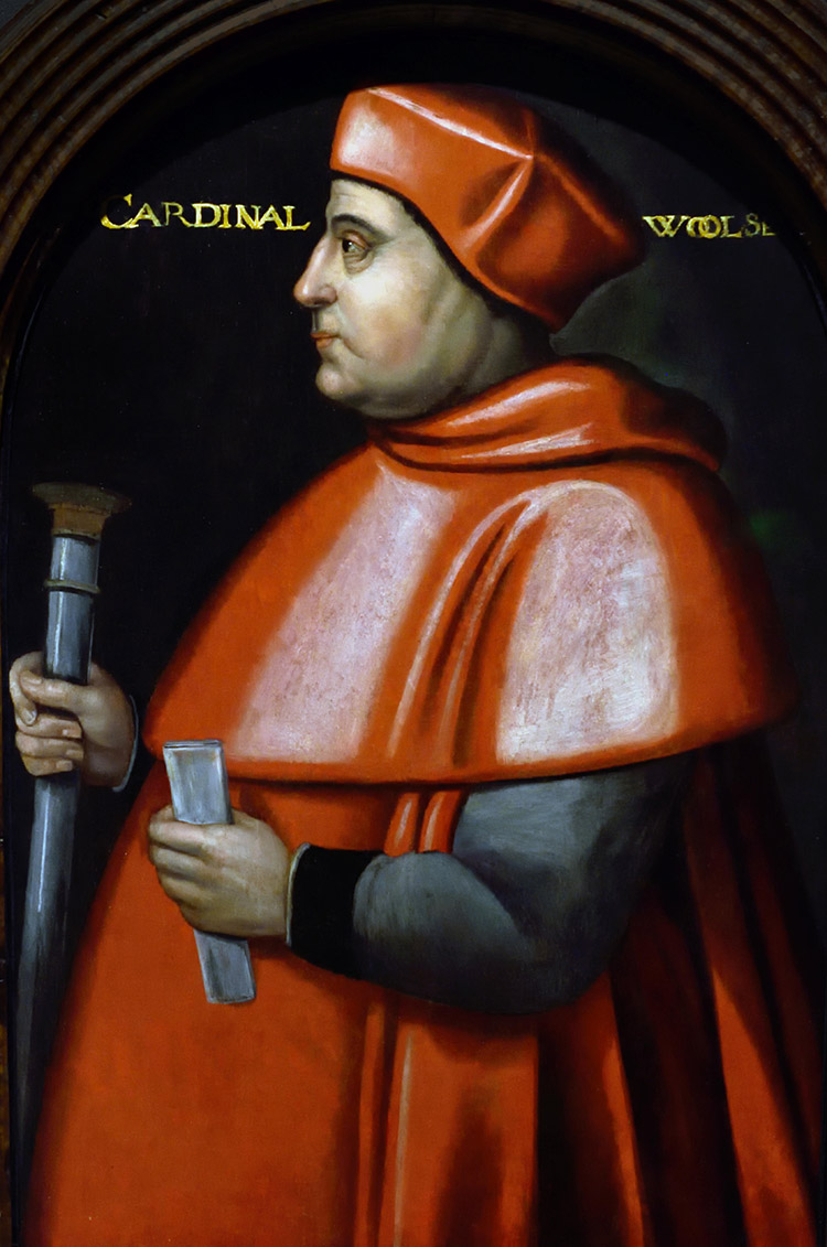 Thomas Wolsey, unknown artist.