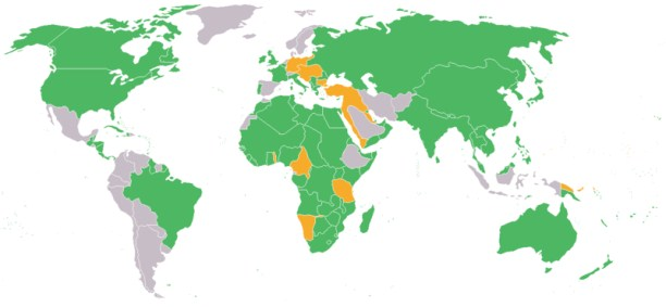 map of the world showing the participants in the first world war green entente
